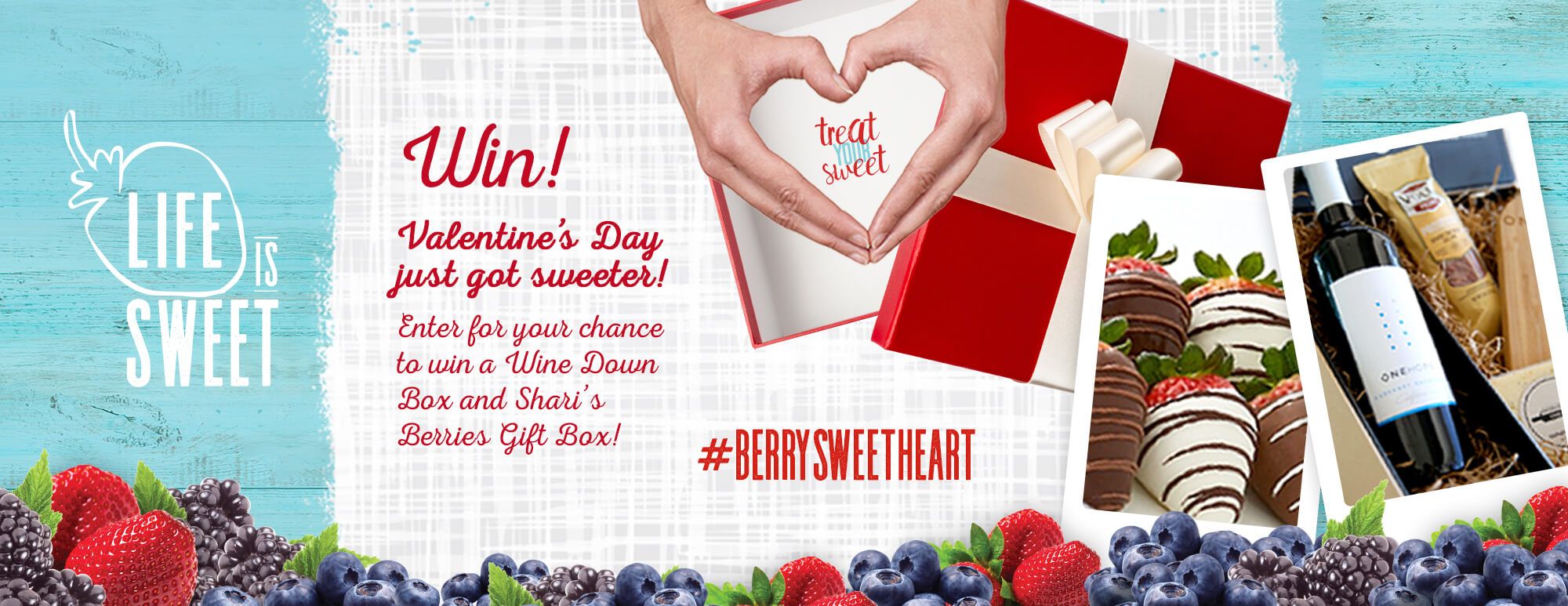 Life is Sweet Giveaway Wish Farms Florida Berries