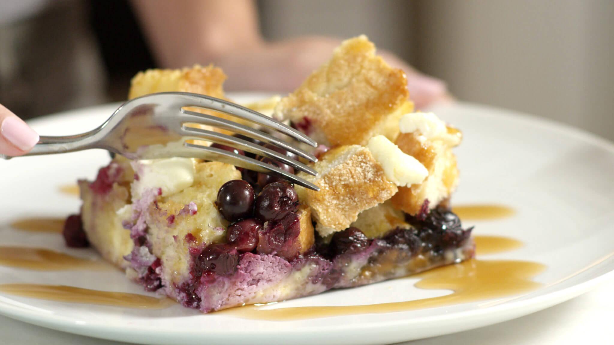 Blueberry Breakfast Casserole Recipe Wish Farms