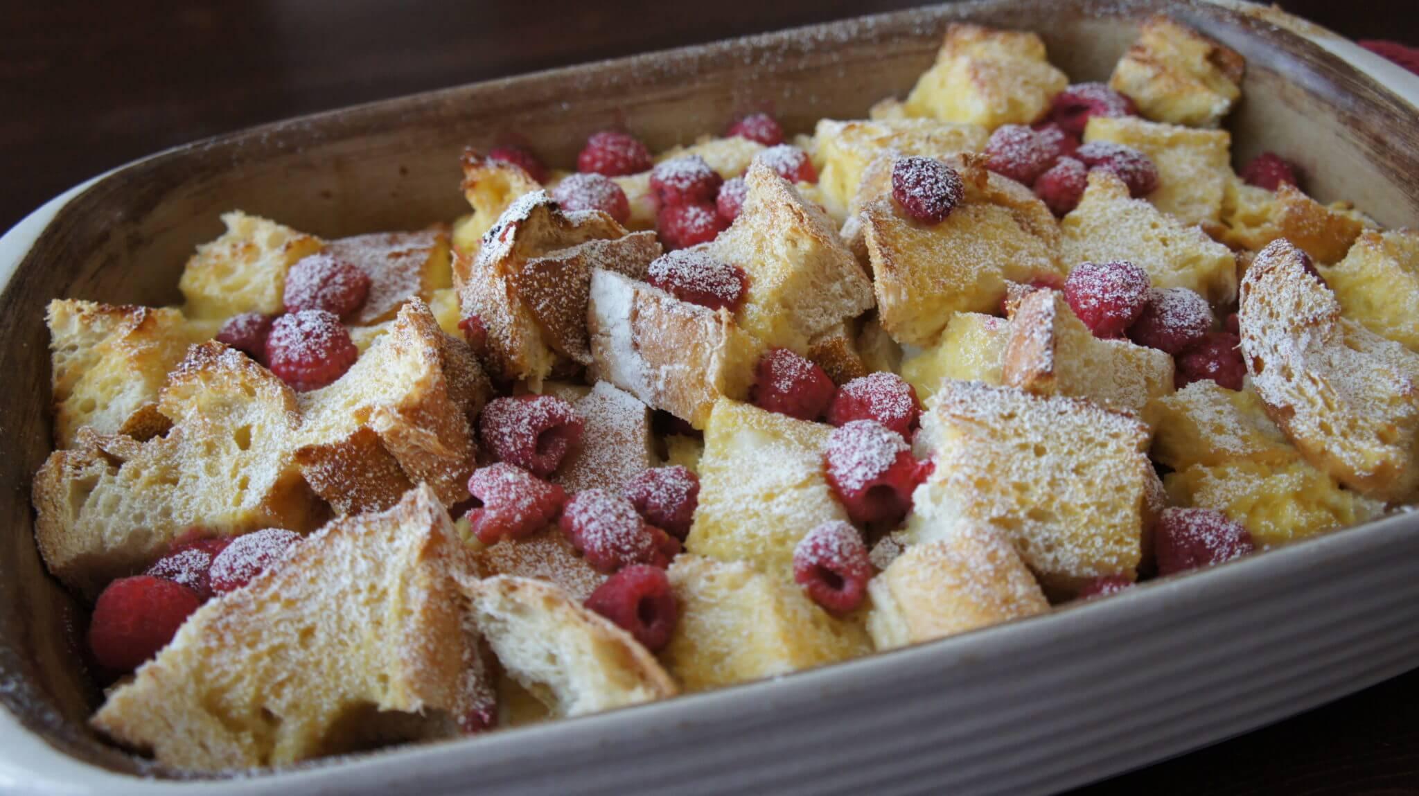 Lemon Raspberry Stuffed French Toast Recipe