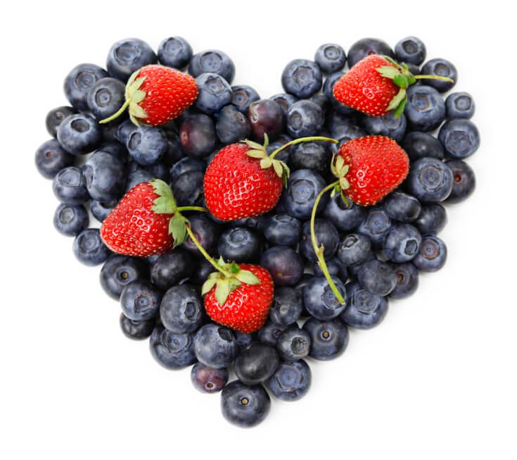@wishfarms #hearthealthy #strawberries and #blueberries