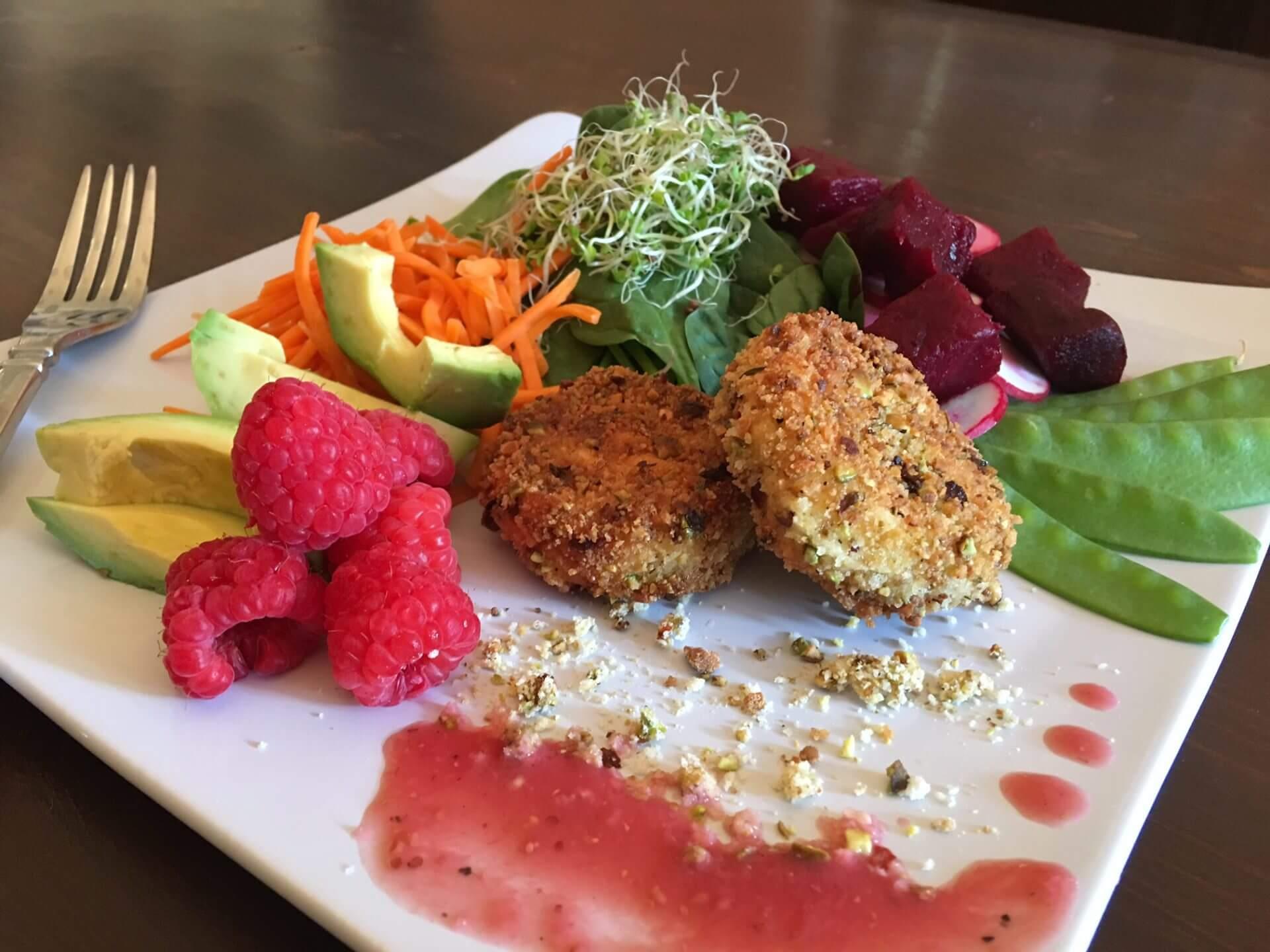 Raspberry & Goat Cheese Salad Recipe from Raspberry Grower Wish Farms