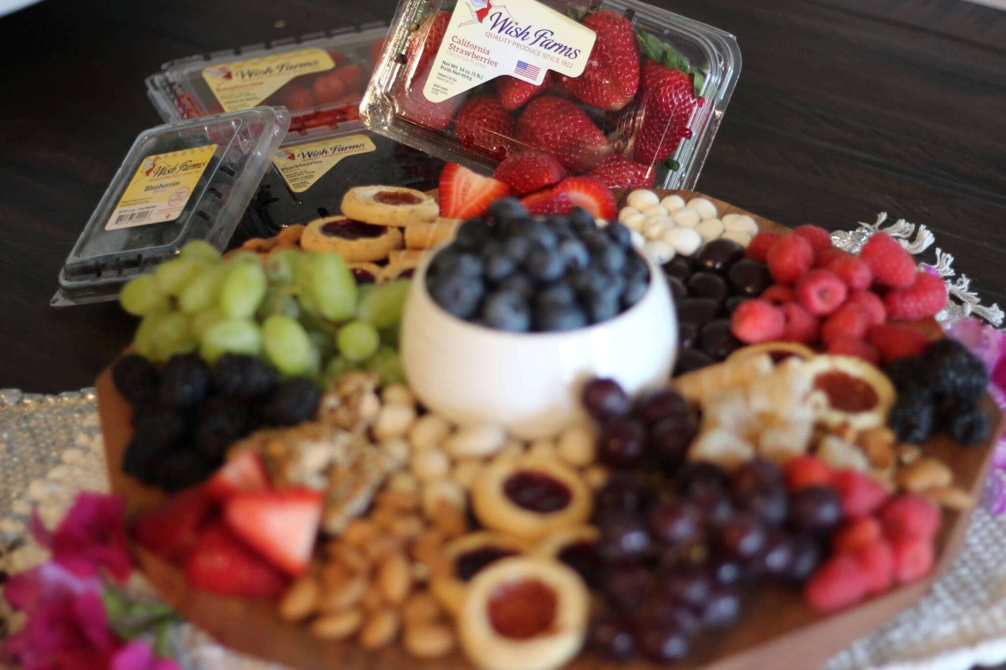 Fun Party Berry Appetizer Wish Farms Florida