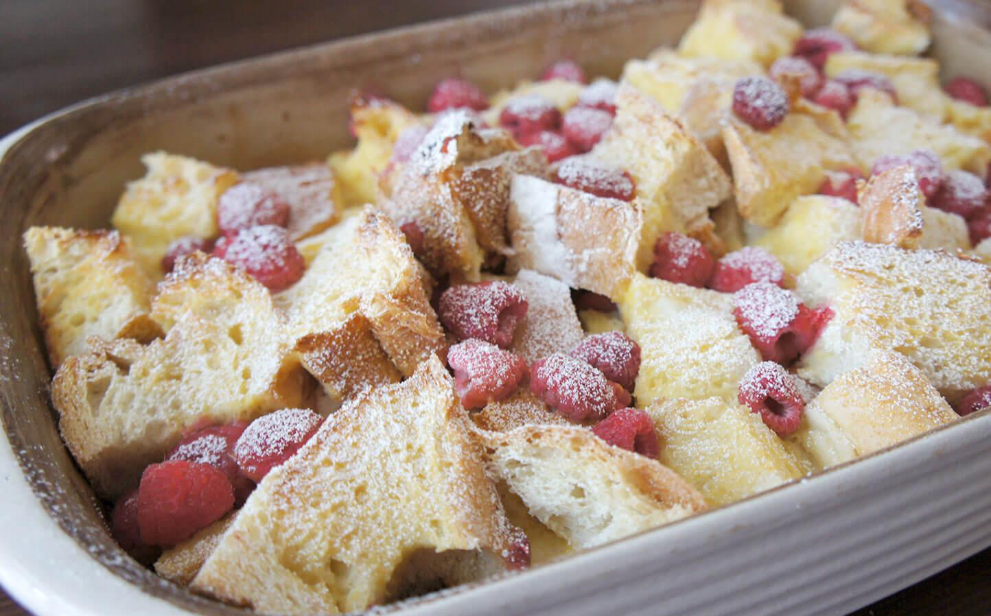 Raspberry French Toast Recipe from Raspberry Grower Wish Farms