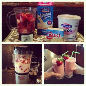 @wishfarms strawberries and cream smoothie