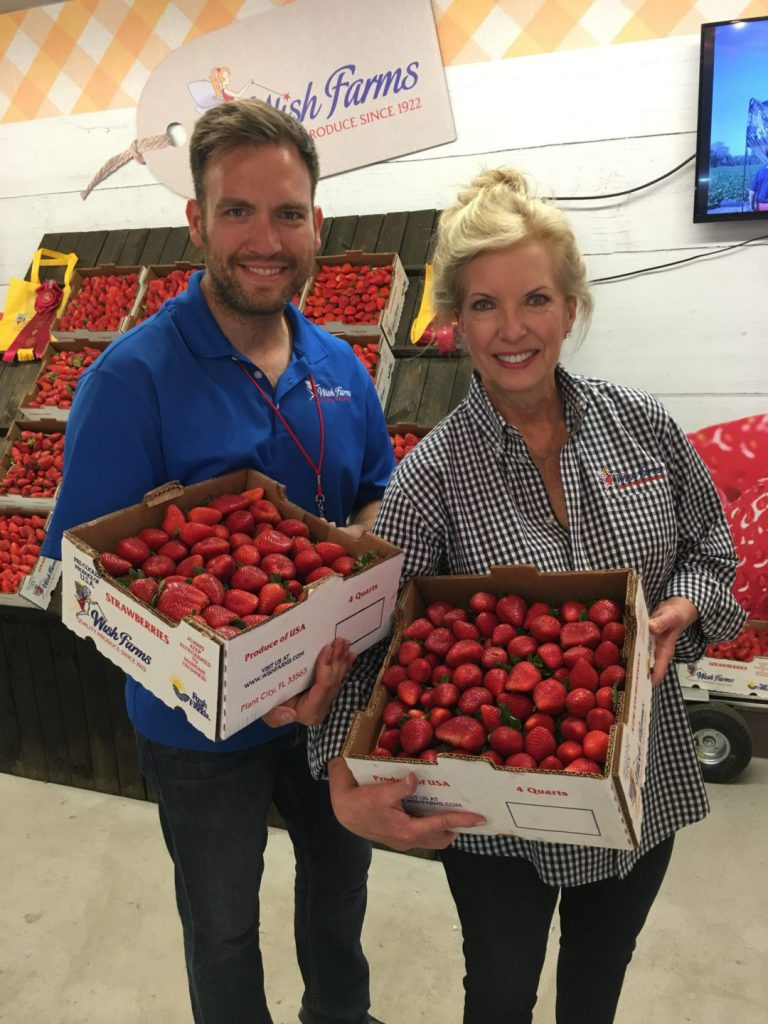 Wish Farms Delicious Strawberry Growers FL