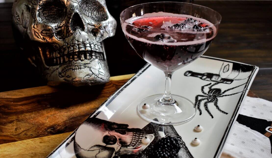 Black Widow Blackberry Cocktail Recipe Wish Farms