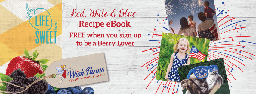 Wish Farms 4th of July Recipes eCookbook Berry Lovers