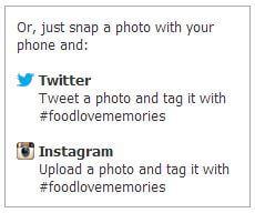 @wishfarms #foodlovememories Mother's Day Sweepstakes