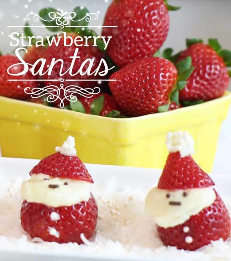 Wish Farms Strawberry Santa Holiday Recipes